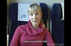 Fata Din Cehia Face Muie In Compartimentul Trenului